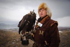 Internationale toernooien van meesters van de jacht met de jacht van vogels Royalty-vrije Stock Afbeeldingen