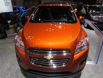 Internationale toont Auto van Shevrolet 2015 New York Royalty-vrije Stock Foto