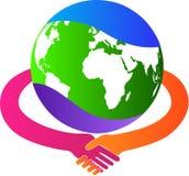 Internationale transactie royalty-vrije illustratie
