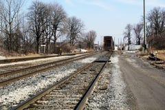 Internationale Treinbrug Stock Fotografie