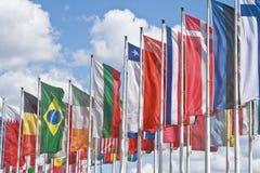 Internationale vergadering Royalty-vrije Stock Afbeelding