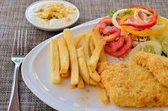 Internationale voedsel en maaltijd Stock Fotografie