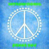 Internationale vredesdag Stock Afbeelding