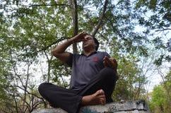 Internationale Yogadag Royalty-vrije Stock Foto's