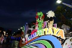 19 11 2017 Internationale Zee, internationale de verjaardagsparade van ASEAN ` s 50 van het vlootoverzicht 2017 in Pattaya, Thail Royalty-vrije Stock Fotografie