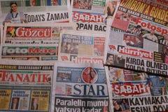 Internationale Zeitung Stockfotografie
