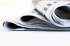 Internationale Zeitungen Stockfotografie
