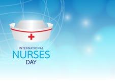 Internationalen vårdar dag Arkivbild
