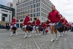 Internationaler Arbeitstag in Berlin Lizenzfreie Stockfotos