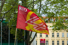 Internationaler Arbeitstag in Berlin Lizenzfreie Stockbilder