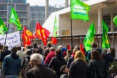 Internationaler Arbeitstag in Berlin Stockfotos