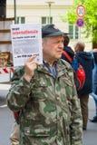 Internationaler Arbeitstag in Berlin Lizenzfreies Stockbild