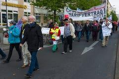 Internationaler Arbeitstag in Berlin Lizenzfreie Stockfotografie