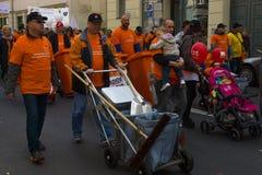 Internationaler Arbeitstag in Berlin Lizenzfreies Stockfoto