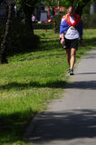 26. internationaler Belgrad-Marathonlauf Stockbilder