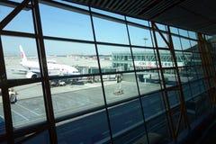 Internationaler ernstlichflughafen Pekings   T3 Stockbilder