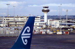 Internationaler Flughafen Aucklands Lizenzfreies Stockfoto
