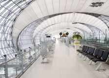Internationaler Flughafen Bangkoks Lizenzfreie Stockfotos