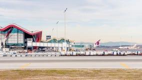 Internationaler Flughafen Barajas, Madrid Stockfotografie