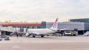 Internationaler Flughafen Barajas, Madrid Stockbilder