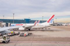 Internationaler Flughafen Barajas, Madrid Stockfoto