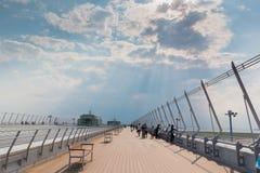 Internationaler Flughafen Chubu Centrair in Japan lizenzfreie stockbilder