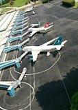 Internationaler Flughafen der Türkei Stockfotografie
