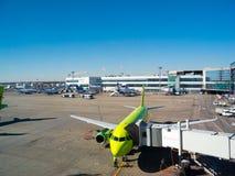 Internationaler Flughafen Domodedovo Lizenzfreie Stockbilder