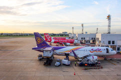 Internationaler Flughafen Don Muangs, Bangkok, Thailand 1 Stockbild