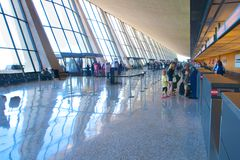 Internationaler Flughafen Dulles Stockbilder