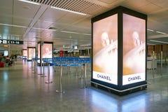 Internationaler Flughafen Fiumicino lizenzfreie stockfotos