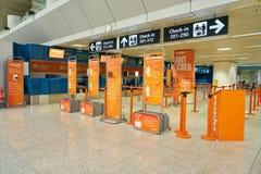 Internationaler Flughafen Fiumicino stockfotografie