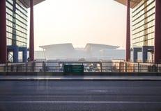 Internationaler Flughafen Guangzhous Baiyun stockfoto