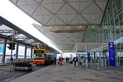 Internationaler Flughafen Hongs Kong Stockbilder
