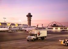 Internationaler Flughafen Los Angeless Stockfoto