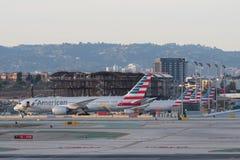 Internationaler Flughafen Los Angeless, LOCKER Stockfotos