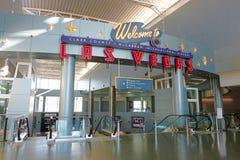 Internationaler Flughafen McCarran Stockbild