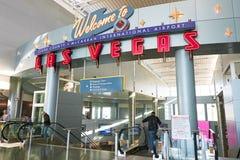Internationaler Flughafen McCarran in Las Vegas Lizenzfreies Stockbild
