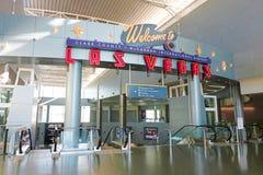 Internationaler Flughafen McCarran in Las Vegas Stockbild