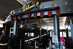 Internationaler Flughafen McCarran in Las Vegas Nanovolt Stockbilder