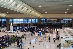 Internationaler Flughafen Narita, Tokyo, Japan, Abfahrtanschluß 2 Lizenzfreie Stockfotos