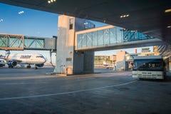 Internationaler Flughafen Otopenis, der Bukarest instandhält lizenzfreie stockfotos