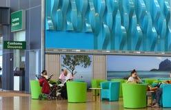Internationaler Flughafen in Plaine Magnien, Mauritius Stockfotos