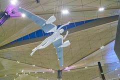 Internationaler Flughafen Pulkovo Stockbilder