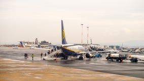 Internationaler Flughafen Saloniki Stockbild
