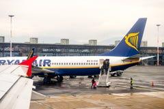 Internationaler Flughafen Saloniki Lizenzfreies Stockbild