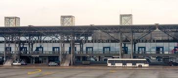 Internationaler Flughafen Saloniki Stockbilder