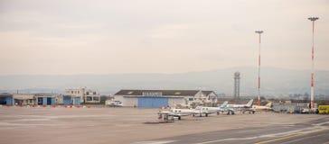 Internationaler Flughafen Saloniki Lizenzfreie Stockfotos
