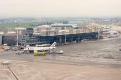 Internationaler Flughafen Saloniki Stockfotografie