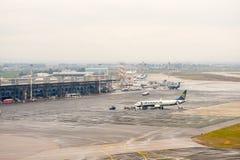 Internationaler Flughafen Saloniki Lizenzfreie Stockbilder